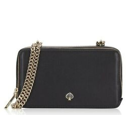 Kate Spade Izzy Small Convertible Crossbody Double Zip Wallet BRAND NEW $99.99