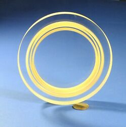 5.5quot; Dia. Optical Test Plate Reference Flat 0.000001quot; 1 10 wave light bands $55.00