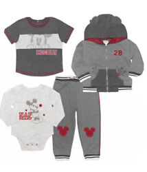 Disney Baby Winter Cloths 4 Piece Set for a Girl and a Boy $35.00