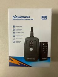 DEWENWILS Outdoor Remote Control Timer Plug in Christmas Light Timer HODT12B $15.95