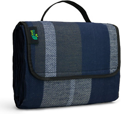 Picnic Blanket Extra Large Outdoor Foldable Mat with Waterproof Backing for Fami $24.99