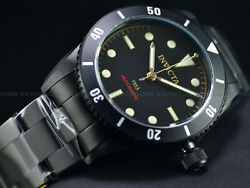 RARE NEW INVICTA 1953 PRO DIVER MENS NH35 AUTOMATIC 40MM ALL BLACK IP SS WATCH $179.00