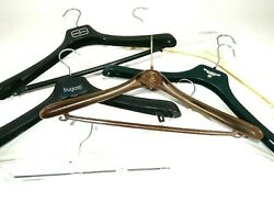 Vintage Clothing Hangers Marked 8pcs Commercial Promotional F512