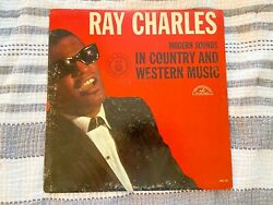 Ray Charles Modern Sounds in Country and Western Music LP ABCS 410 $8.99