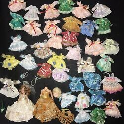 2 Vintage Dolls With A Total Of 36 Beautiful Extra Dresses Ship Free $49.95