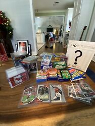 Assortment of Quality sportscards Auto RC And Jersey Cards $120 Value $36.00