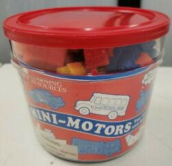 Learning Resources Mini Motors Counters Set of 72 Counting Sorting Cars Trains $19.95