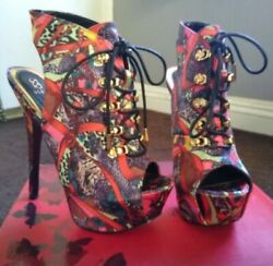 JUSTFAB LADIES HIGH HEELS PARTY SHOES WOMENS $24.00