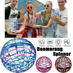 360° Rotating Spinner Flying Ball Mini Drone Toy with LED for Kids Adults Gift $12.14