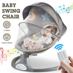 w bluetooth Music Remote Baby Swing Electric Rocker Chair Bouncer Seat Cradle $89.99