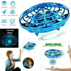 Hand Operated Mini Drones for 6 7 8 9 10 Years Old Kids Hands Free Flying UFO CA $16.79