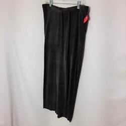 NWT BAREFOOT DREAMS COZYCHIC GRAY MAXI SKIRT SIZE LARGE $79.00