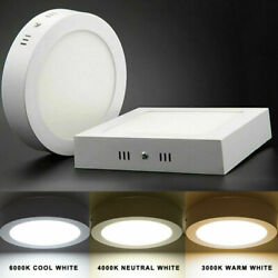 6W 24W LED Home Kitchen Ceiling Downlight Surface Mount Panel Light Lamp Fixture