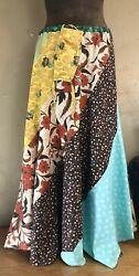 Peaceful Earth Swirl Skirt And Matching Mask sz L XL Woodland Hippie $75.00
