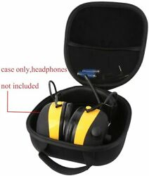 Bluetooth Technology Wireless Hearing Protector AM FM Carrying Case 3M Worktunes $21.35