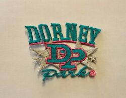 NEW RARE Dorney Park Wildwater Kingdom Iron On Patch 3quot; x 2quot; $5.97