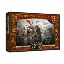 A Song of Ice and Fire Miniature Game Lannister Attachments I NIB $28.00