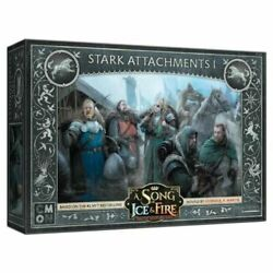A Song of Ice and Fire Miniature Game Stark Attachments I NIB $28.00