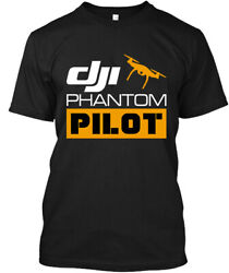 LIMITED NWT DJI Phantom Drone Pilot Helicopter Camera Photograph T SHIRT L 2XL $17.99