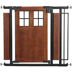 Evenflo Barn Door Walk Thru Gate Farmhouse Collection $89.99