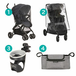 Evenflo Stroller Accessory Kit Netting Weather Shield Cup Holder amp; Organizer $34.99