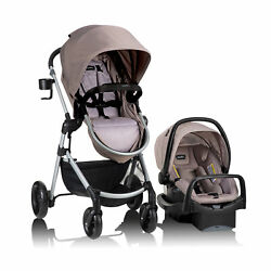 Evenflo Stroller amp; Car Seat Pivot Travel System With Safemax Car Seat $279.99