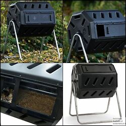 FCMP Outdoor IM4000 Tumbling Composter 37 gallon Black $124.33