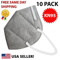 NEW 10 Pack KN95 GREY Face Mask Cover Protection Respirator Masks KN 95 $14.95