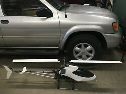 VARIO BENZIN TRAINER HELICOPTER with ZENOAH G270RC ENG $2600.00