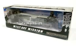 Bell Boeing V 22 Osprey Helicopter 1 72 scale Diecast Military Mission INSTOCK $33.25