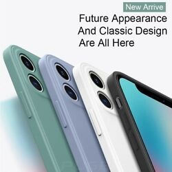 Liquid Silicone Case Camera Lens Cover For iPhone 12 11 Pro XS Max XR X 8 7 Plus $4.95