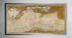 1756 Map of New York Albany Fort Frederick Vintage New York Map Reproducti $33.99