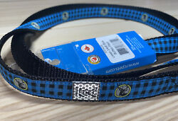 RC Products Dog Leash 3 4 x 6quot; Deer Buck Logo New with Tags Free Ship $13.49