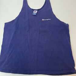 Vintage Champion Sportswear Tank Top XL 90s Made In USA $22.00