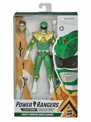 Power Rangers Lightning Collection 6quot; Mighty Morphin Green Ranger New Tommy $52.00