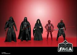 Star Wars The Vintage Collection 3.75quot; Celebrate the Saga Sith Set of 5 Vader $42.00