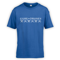 Game of Drones Kids T Shirt x10 Colours Gift Present Funny TV Quadcopter Hobby $17.27