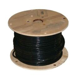500 ft THHN Wire 2 AWG Gauge Black Stranded AL SIMpull Commercial Wiring Conduit