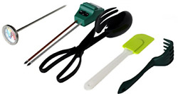 Worm Farm Accessory Kit for Red Wiggler Composting Bins Moisture Meter pH Meter $42.49