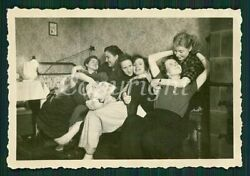 DRUNK PARTY GIRLS SMOKING DRINKING HUGGING KISSING LESBIAN INT PRIVATE Photo $39.00