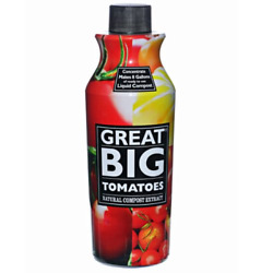 Great Big Tomatoes Natural Compost Extract Fertilizer 32 Ounce $33.93