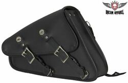 Right Side Solo Swing Arm Bag For Motorcycles $60.30