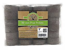 Root Naturally 50mm Peat Pellets 50 Count $41.46