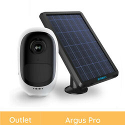 Reolink Refurbished 1080p Wireless Rechargeable Security IP Camera Solar Power $56.99
