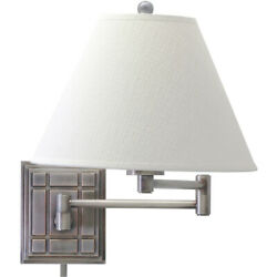 House of Troy WS750 AS Decorative Wall Swing Wall Sconce Antique Silver $202.00