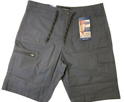 Levis Denizen Casual Summer 10quot; Cargo Shorts Mens 34 Reg Gray New with Tags $19.99