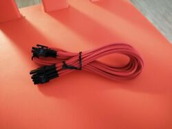 6 PIN to two 62 PIN PCIE POWER modular cable for type 3 $8.99