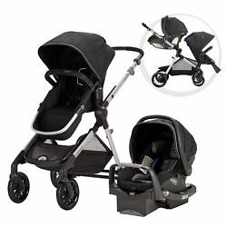 Evenflo Pivot Xpand Modular Travel System Stallion Black $299.99
