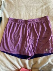 womens champion shorts large $9.00