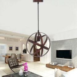 Globe Chandelier Kitchen Home Office Ceiling Fixture Pendant Lamps Art Light $34.71